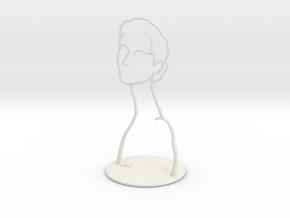 Neck6 in White Natural Versatile Plastic