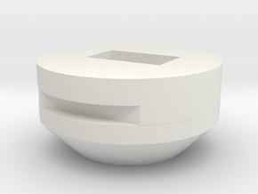 iHome SmartSlide Lightning Adapter for Apple iPhon in White Natural Versatile Plastic