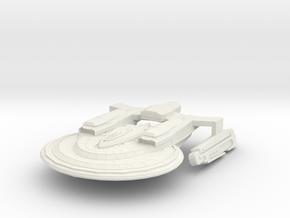 Oden Class GunCruiser in White Natural Versatile Plastic