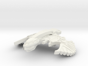 StarHawk Class Destroyer in White Natural Versatile Plastic
