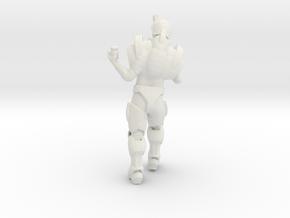 Jon Side2 in White Natural Versatile Plastic