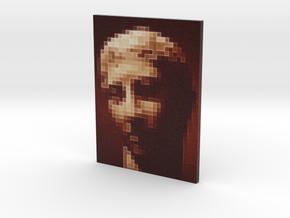 Brown Portrait - flat - 3in in Full Color Sandstone