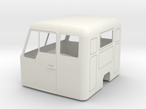 VOLVO-Cab-shell-10mm in White Natural Versatile Plastic