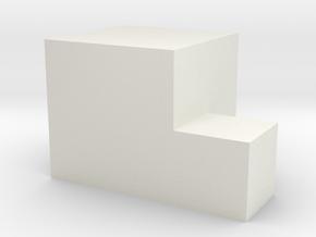 Da stair in White Natural Versatile Plastic