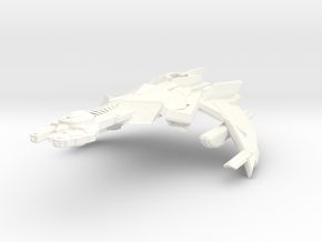 K'Mara Class HvyCruiser in White Strong & Flexible Polished