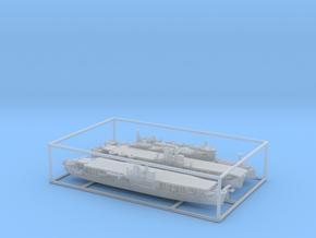1/2400 IJN(IJA) Amphibious Assault Ships (Set1*) in Smooth Fine Detail Plastic
