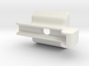 Iphone 5 Mount in White Natural Versatile Plastic