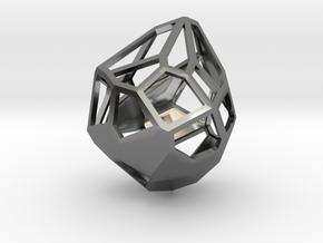 Droplet Pendant in Premium Silver
