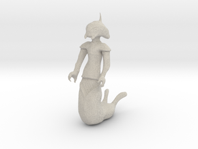 Alien Naga in Natural Sandstone