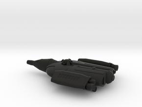 NASC Gemini Defiant (fixed) in Black Strong & Flexible