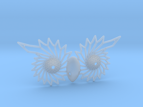 Owl Eyes - 7cm in Smooth Fine Detail Plastic