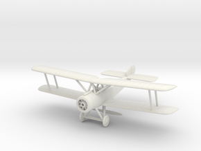 1/144 Sopwith 1 1/2 Strutter, Single Seat version in White Natural Versatile Plastic
