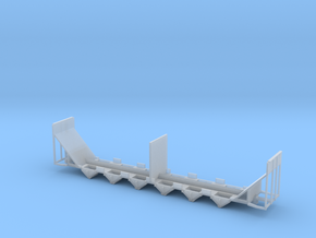 Woodchip Hopper Frame N Scale in Smooth Fine Detail Plastic