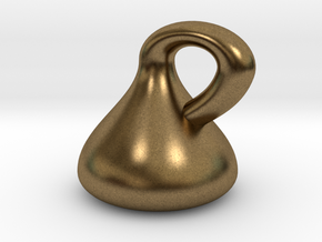 Klein Bottle - Non-Orientable Surface in Natural Bronze