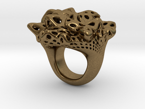 Nebula Ring in Natural Bronze