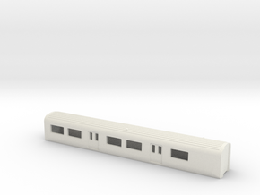 Mk3 EMU TS N Gauge 1:148 in White Strong & Flexible