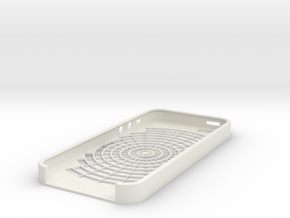 Iphone 5 Case - Web in White Natural Versatile Plastic