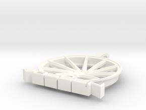 Vossen Ghetto CVT Pendant in White Processed Versatile Plastic