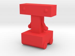 Tim's Robot in Red Processed Versatile Plastic