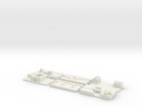 "1"" Building Set 8 - World War One Set 1 in White Natural Versatile Plastic"
