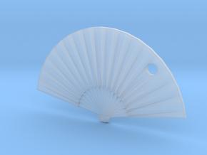 Oriental Fan in Smooth Fine Detail Plastic