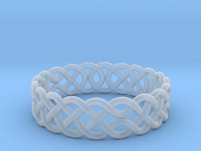 Celtic Ring - 19mm ⌀ in Smooth Fine Detail Plastic