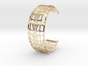 Tire Bracelet in 14K Yellow Gold