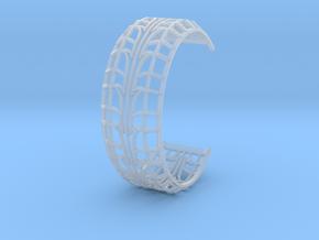 Tire Bracelet in Smooth Fine Detail Plastic