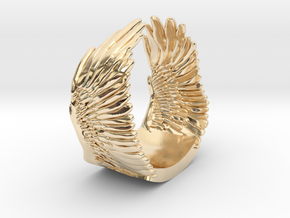 Wings Ring in 14K Yellow Gold