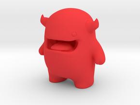 Alf Mascot Character in Red Processed Versatile Plastic