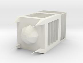 Building in White Natural Versatile Plastic