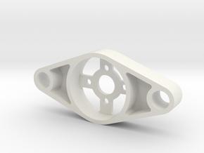 Spidex Bg Mountv3 in White Natural Versatile Plastic