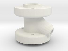 Steeringhead BP_OS &V2 in White Natural Versatile Plastic