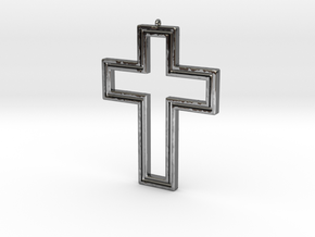 Holy Cross Pendant in Premium Silver