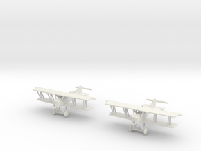1/144 Pfalz D.XII (early) x2 in White Natural Versatile Plastic