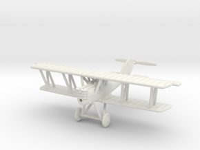 1/144 Pfalz D.XII (late) in White Natural Versatile Plastic