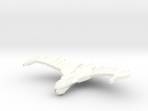 HawkWing Class Cruiser (wings Up) Small in White Processed Versatile Plastic