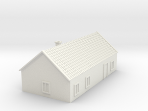 House 4 in White Natural Versatile Plastic