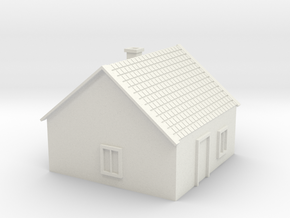 House 5 in White Natural Versatile Plastic