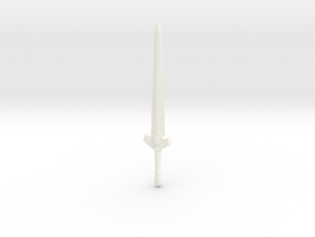 Sword of the first born in White Strong & Flexible Polished