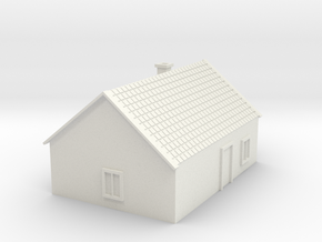 House 6 in White Natural Versatile Plastic