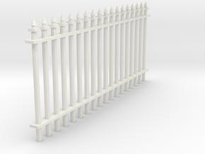 Fence 1 in White Natural Versatile Plastic