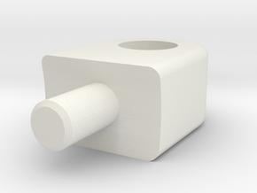 Skid Pad Eye - Logitudenal in White Strong & Flexible
