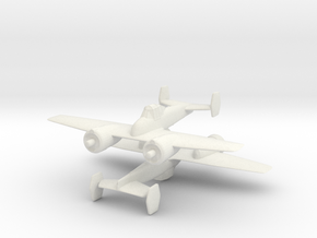 1/300 Grumman G34 Skyrocket / XF5F-1 (x2) in White Strong & Flexible