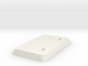 Blank Stand in White Natural Versatile Plastic