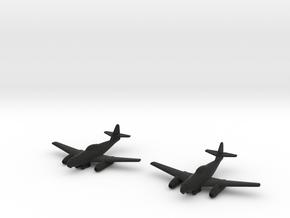 1/144 Messerschmitt Me-262A-2a/U2 (x2) in Black Strong & Flexible
