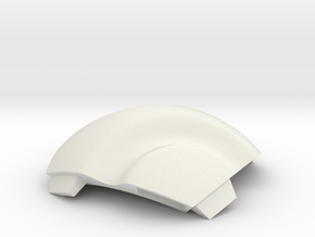 NSphere Thick (tile type:5) in White Natural Versatile Plastic