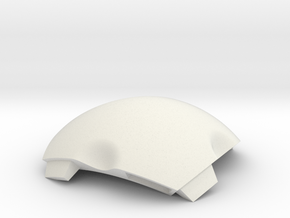 NSphere Thick (tile type:2) in White Natural Versatile Plastic