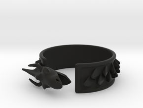 Dragon Cuff in Black Strong & Flexible