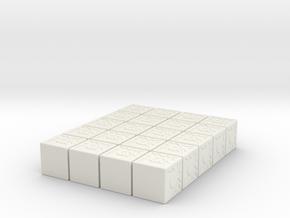 "CRIT HIT D6 (.48"") 20pk in White Natural Versatile Plastic"